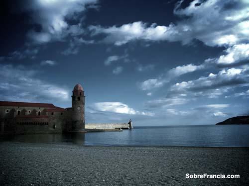 Collioure, no hay cielo más azul