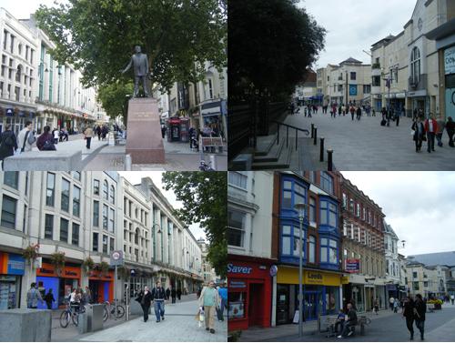 calles de Cardiff