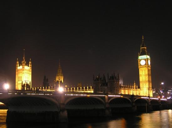 Foto del Parlamento y el Big Ben, en Londres