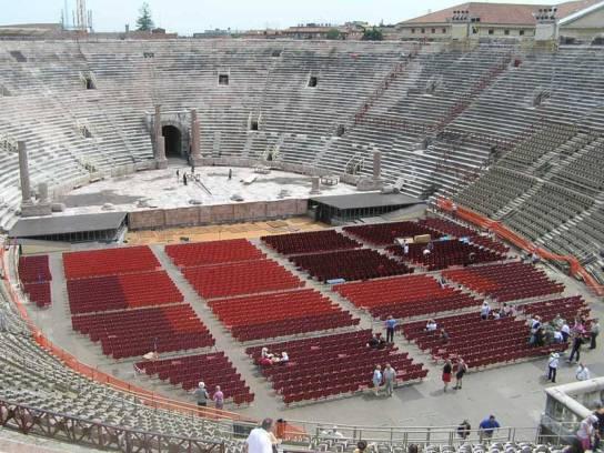Arena, anfiteatro de Verona