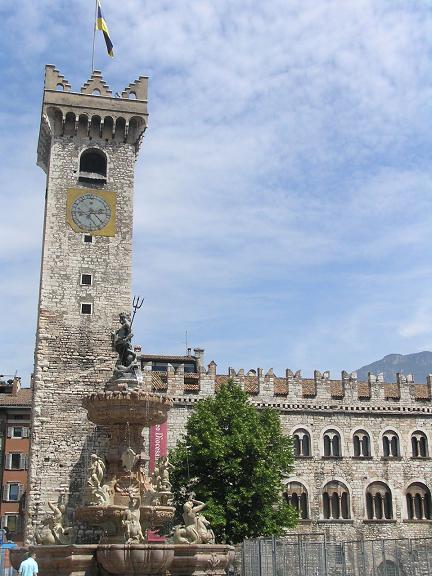 Torre dell'Aquila en Trento
