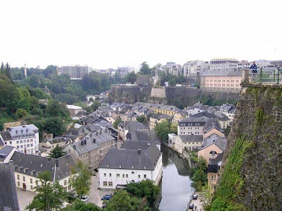 Luxemburgo desde Le Bock