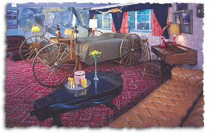 Suite Yahoo en el Madonna Inn