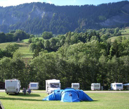 Camping Flumet en Francia