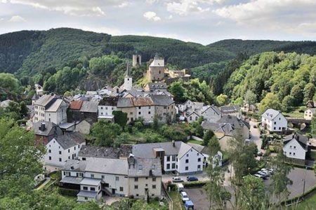 Acampar en Luxemburgo, en Esch-sur-Sûre