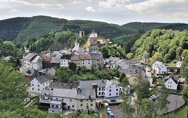Esch-sur-Sûre en Luxemburgo
