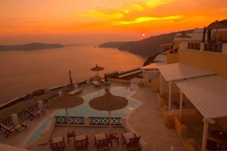Hotel Santorini Princess Spa, lujo y descanso en Santorini