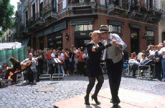tango en San Telmo, Buenos Aires
