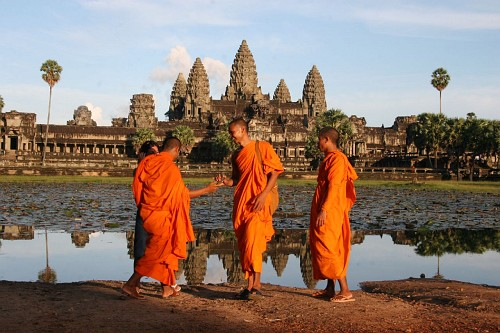 Angkor Wat en Camboya