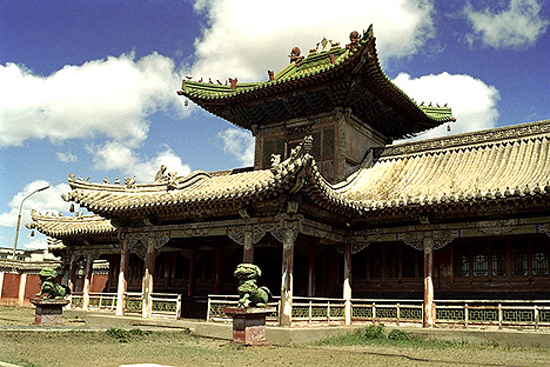 bodg-khaan en Mongolia