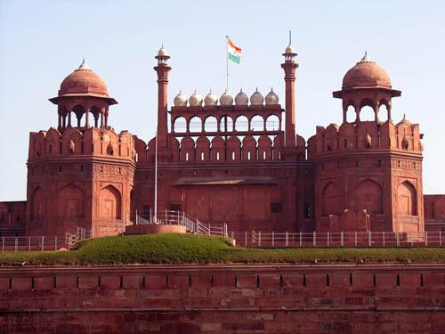 Fuerte en Delhi