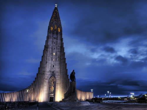 iglesia-hallgrim en islandia