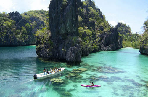 palawan en Filipinas