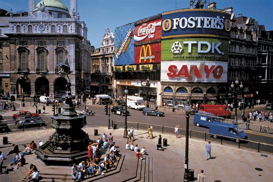 piccadilly-circus en Londres
