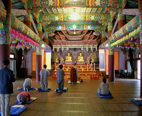templo haeinsa en Corea