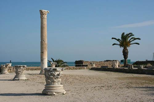 termas-de-antonino en las ruinas de Cartago