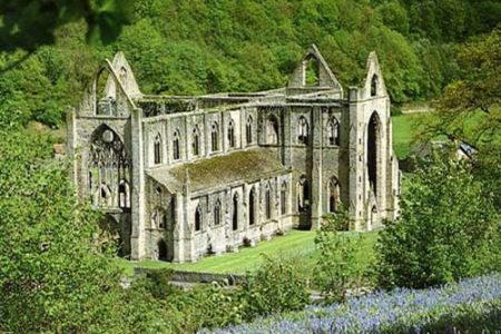 La Abadía Tintern, en Gales