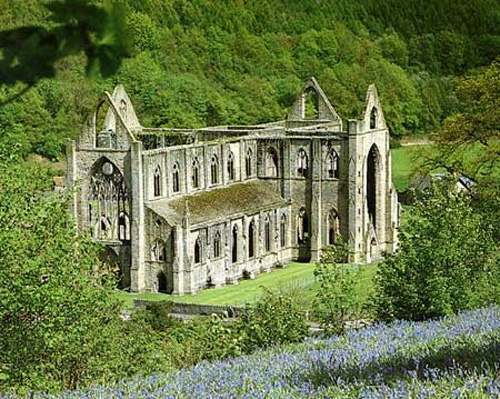 Abadia de Tintern en Gales