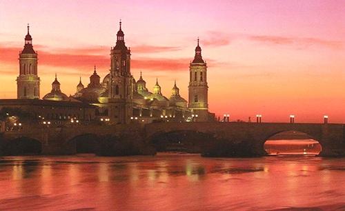 Basilica del Pilar en Zaragoza