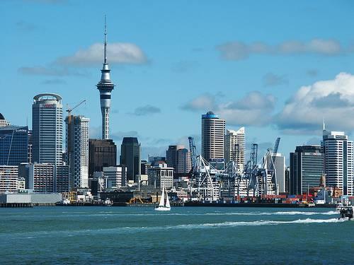 Panorámica de Auckland