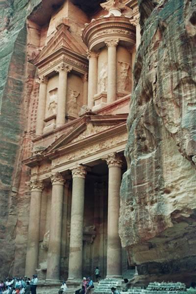 El Khazneh - el Tesoro en Petra