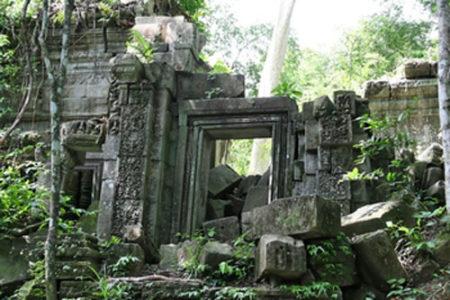 Las ruinas del Templo Beng Melea, en Camboya