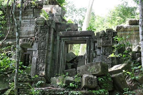 Templo Beng Melea en Camboya