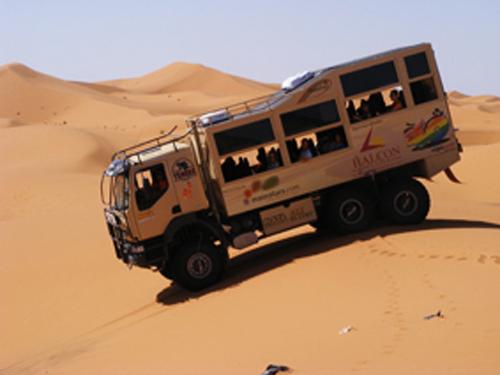 camion-6x6-dunas en marruecos