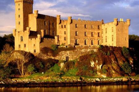 El Castillo Dunvegan, en Escocia