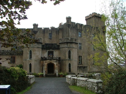 castillo dunvegan en Escocia