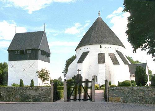 osterlars, iglesias redondas de Bornholm