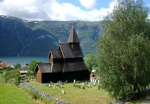 Iglesia de Urnes en Noruega