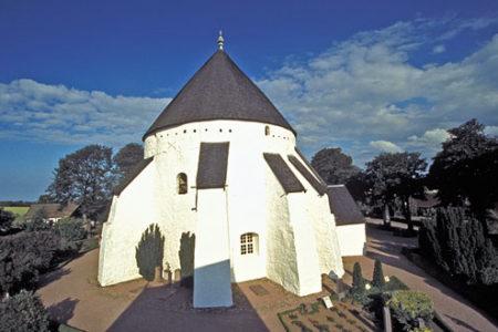 Las Iglesias Redondas de Bornholm, en Dinamarca