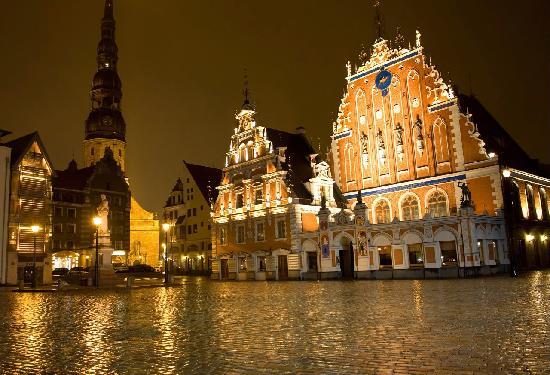 Riga de noche