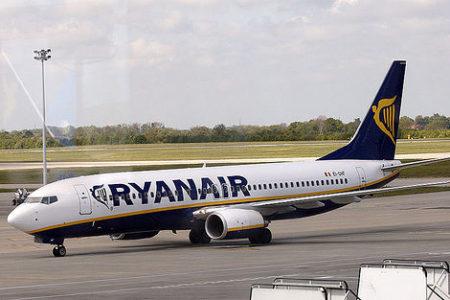 Ryanair oferta un millón de plazas por 8 euros