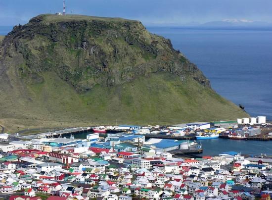 vestmannaeyjar en Islandia