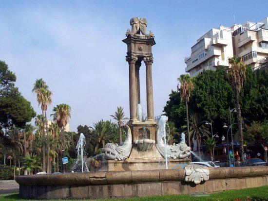 Almeria, parque Nicolas Salmeron
