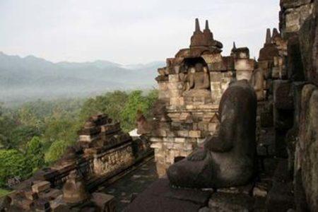 Borobudur, templo budista con la forma del mandala