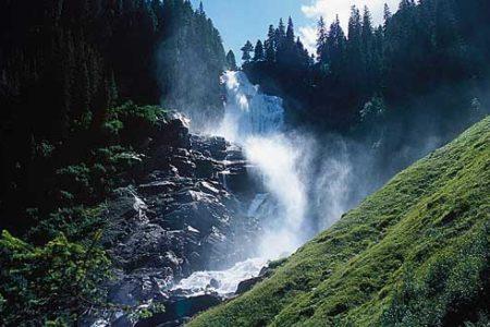 La cascada más alta de Europa: Krimml en Salzburgo