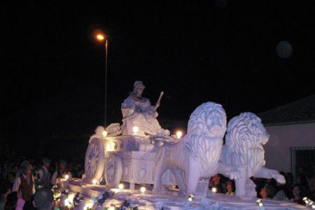 Desfile de las carrozas en Azuqueca, de Interes Turistico
