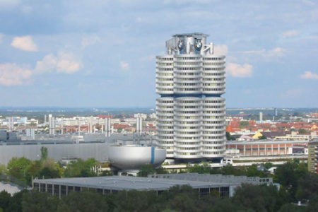 El Edificio BMW, en Munich