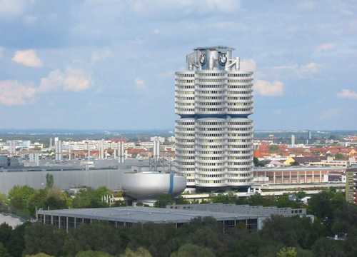 edificio-bmw en Munich