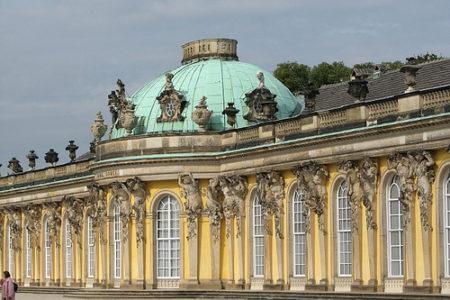Visitando el Palacio Sanssouci, en Postdam
