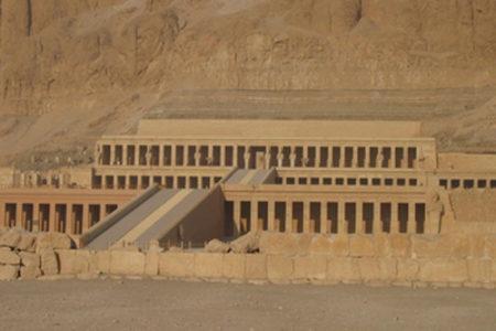 El Templo de Hatshepsut, en Luxor