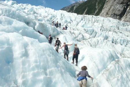 Franz Josef, un glaciar imponente en Nueva Zelanda