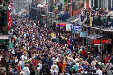Mardi Gras, carnaval en Nueva Orleans