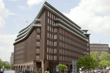 Chilehaus, con aire latino en Hamburgo