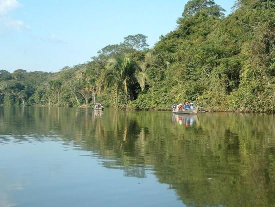 lago-sandoval en el Amazonas