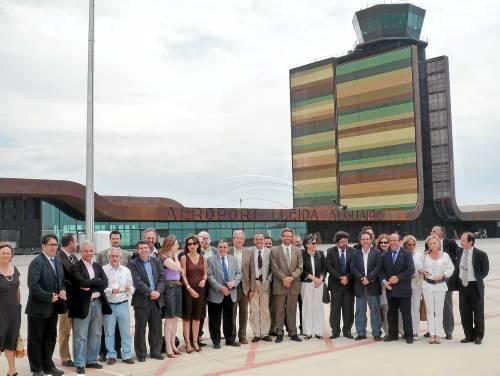 El aeropuerto de Lleida Alguaire, inaugurado