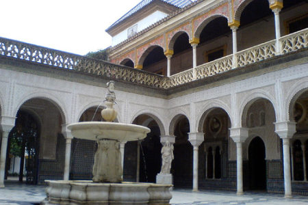La Casa de Pilatos, en Sevilla